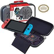RDS Industries, Inc Nintendo Switch Game Traveler Deluxe Travel Case- Zelda Breath of the Wild - Sheikah Eye -