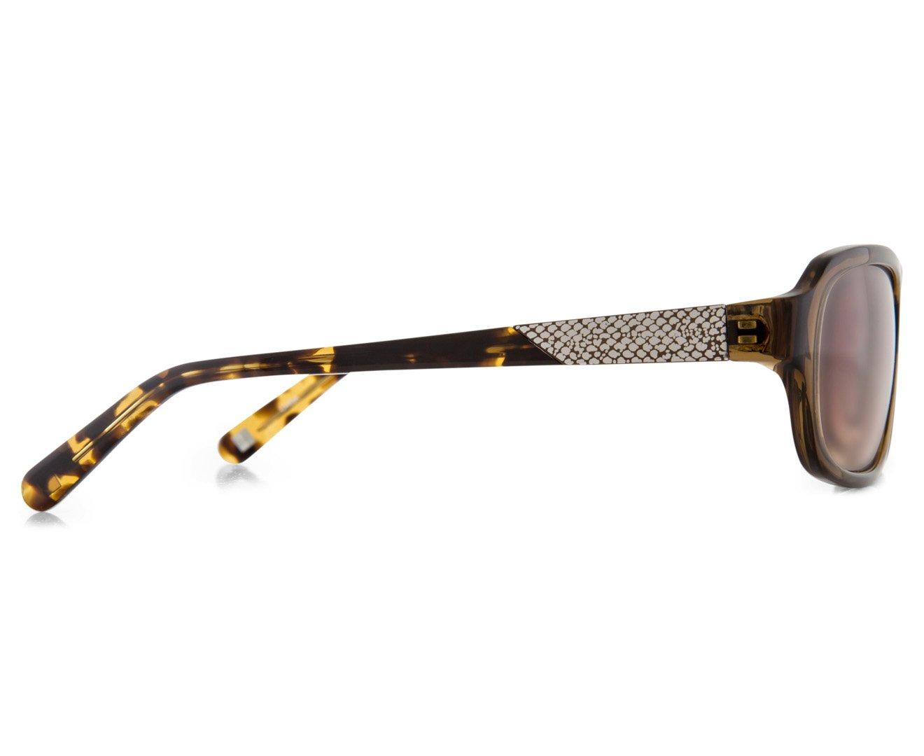 66122c61e3cb1 Óculos de Sol Nine West Nw565s 210 57 Marrom Transparente  Amazon.com.br   Amazon Moda