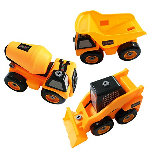 Tonka Construction Toys For Boys : Tonka construction toy trucks take apart tool set best