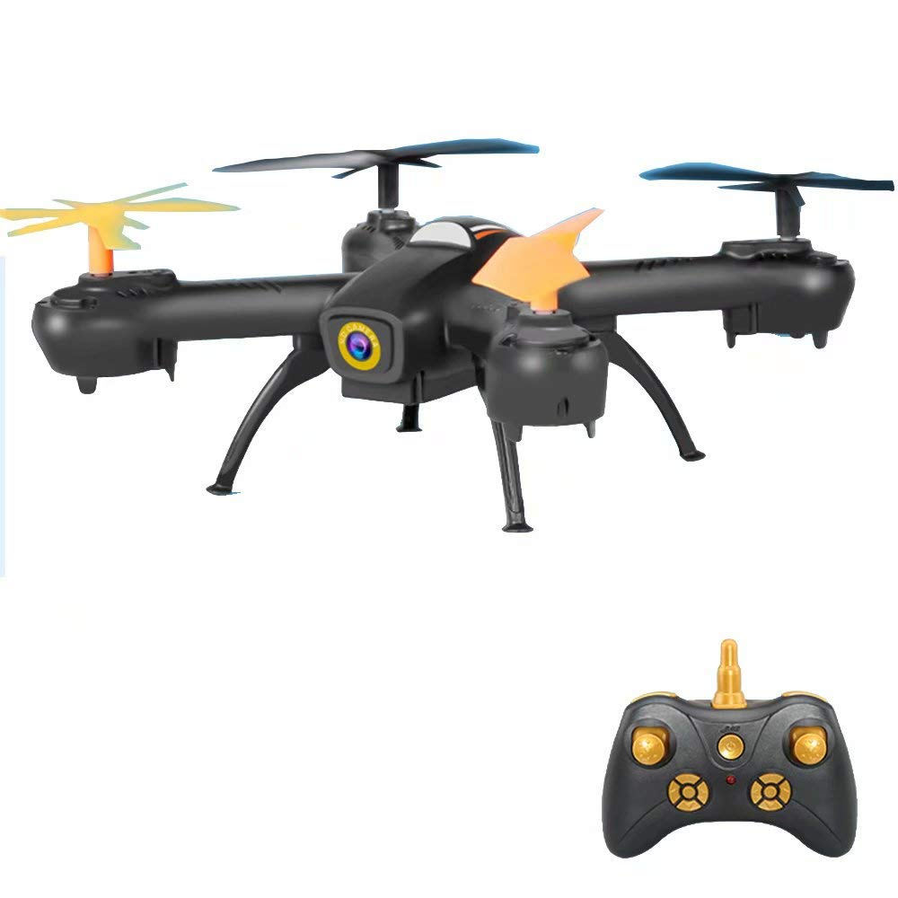 Drone RC Quadcopter Altitude Hold 360 Gradi 720P HD Camera 4CH 2,4 GHz Altezza Hold Easy Fly Steady
