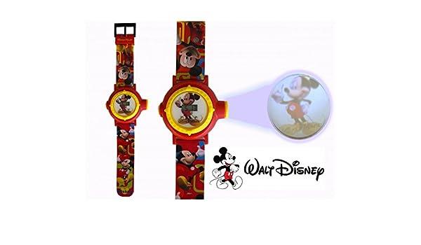 Reloj digital para niños con proyector de imágenes de personajes ...
