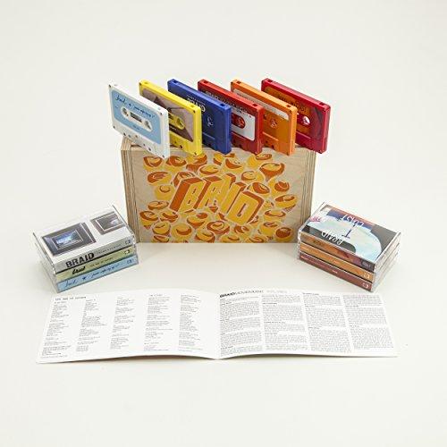 Cassette : Braid - 6 Cassettes Box Set (Boxed Set, Digital Download Card, 6PC)