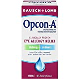 Bausch and Lomb Opcon-A Eye Allergy Relief