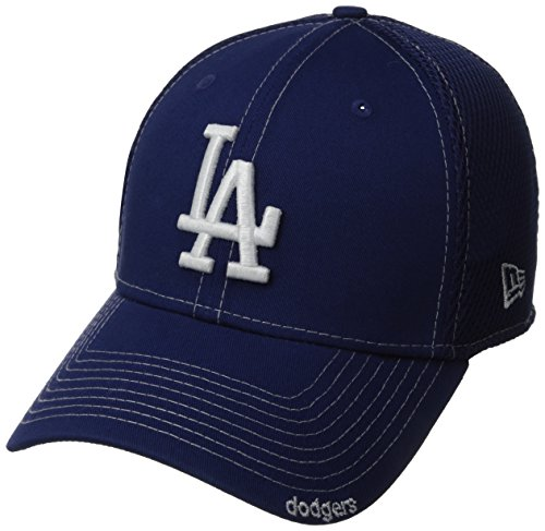 MLB Los Angeles Dodgers Neo Fitted Baseball Cap, Royal, Medium/Large -