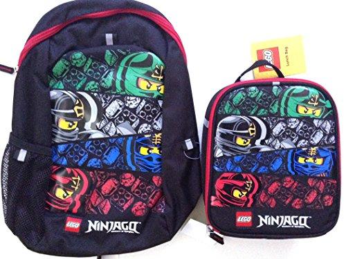 Lego Ninjago Color Backpack Lunch