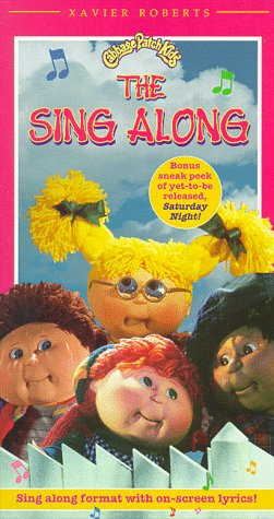 Cabbage Patch Kids: The Sing Along [VHS]