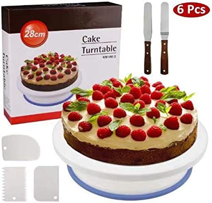 EEM Soporte de Torta Giratorio de Placa de Pastel de WisFox Plato ...