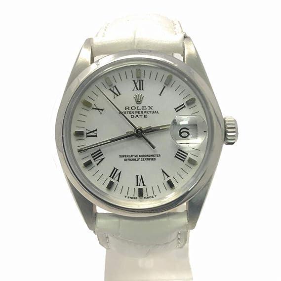 Rolex Fecha swiss-automatic Mens Reloj 1500 (Certificado) de segunda mano: Rolex: Amazon.es: Relojes