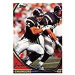08910b945 1994 Topps Football Card #250 Junior Seau San Diego Chargers Official NFL  Trading.