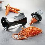 Spiralizer- Vegetable Spiral Slicer with Attachable Finger Guard- Spirelli 2.0 by GEFU