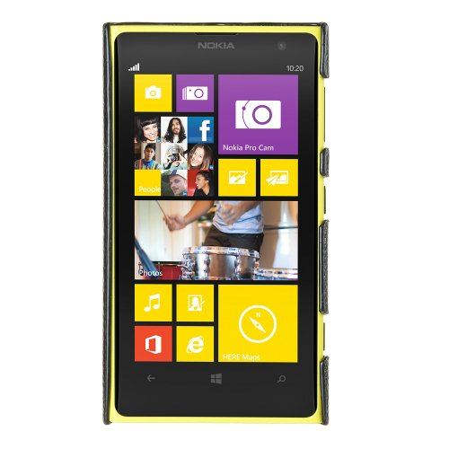 Melkco - Leather Snap Cover for Nokia Lumia 1020 - (Black) - NKLU10LOLT1BKLC