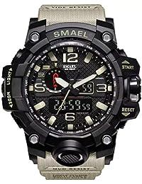 Relógio Masculino Militar G-shock Smael 1545 Prova D'água