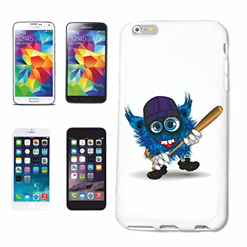 "cas de téléphone iPhone 7 ""MONSTER AVEC BASEBALL BAT ET basecap BASE CAP BASEBALL PLAYER BASEBALL BAT BASEBALL PLAYER BASEBALL SHIRT BASEBALL ÉQUIPE"" Hard Case Cover Téléphone Covers Smart Cover pour"