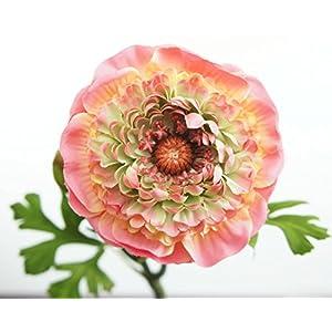Lily Garden 6 Stems Silk Ranunculus Artificial Flowers 3