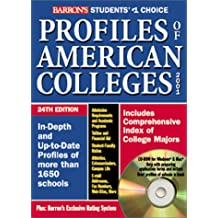 Profiles of American Colleges with CDROM (Barron's Profiles of American Colleges)