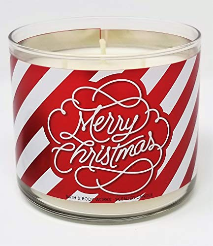 Bath & Body Works Frosted Cranberry Merry Christmas Scented Candle ~ 14.5oz 3 Wick ()