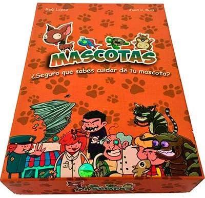 Atomo Games - Mascotas, El Juego De Mesa: Amazon.es: Juguetes y juegos