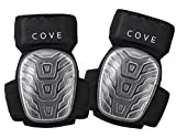 Cove Professional Gel Knee Pads for Work and Gardening- Non Marking and Super Comfortable- Easy to wear all day long