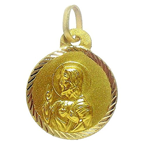 16mm or 18k omoplate médaille. [4798]