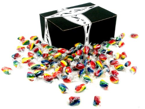 Atkinson's Rainbow Twists, 2 lbs in a Gift Box