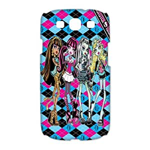 Mystic Zone Monster High Samsung Galaxy S3 Case for Samsung Galaxy S3 Hard Cover Cartoon Fits Case HH0566