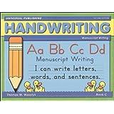 Handwriting Manuscript Writing Book C - 2nd edition