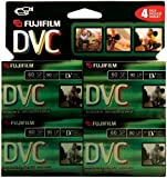 Fuji 4 Pack 60-Minute MiniDV Tapes (DVCM604PK)