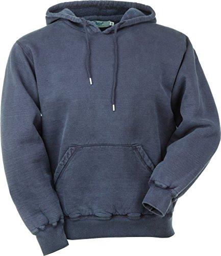 JustSweatshirts Unisex Pullover 100% Cotton Hooded Sweatshirt - Navy Sand - X-Large ()