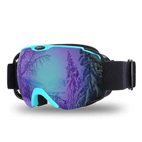 bddfde2aa1f7 Image Unavailable. Image not available for. Color  Lixada Ski Goggles