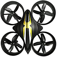 Jlong Mini Drone 2.4GHz 360-degree Rotation 6-axis Gyro LED Lights Headless Mode High/Low Speed Gear One Key Return Durable RC Drone