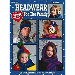 Headwear For The Family - Crochet Patterns