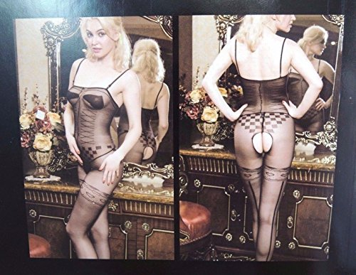 LPGSE-Fishnet Body Stocking/ Sexy Body Suit - Open Crotch, Well Stretch