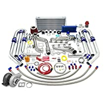 High Performance Upgrade GT45 T4 22pc Turbo Kit - Ford Mustang 5.0L V8