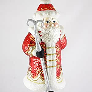Large Russian Santa Christmas Ornament