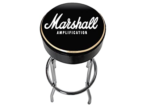 Marshall guitar stool sgabello cm nero amazon