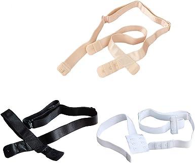 Low Back Bra Strap Adjustable 20mm Black Or White