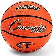"""Champion Sports Pro Rubber Basketball, 27.5""""-2"""