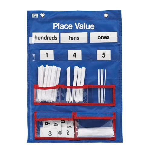 EAI Education Place Value Pocket Chart