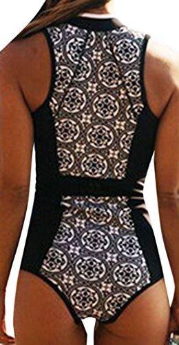 Zauberkirschen - Traje de una pieza - Opaco - para mujer negro negro