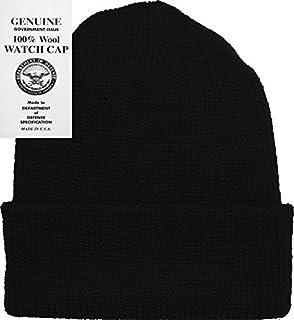 22124e3b Amazon.com: Wigwam Men's Acrylic Watch Cap, Black, One Size: Clothing