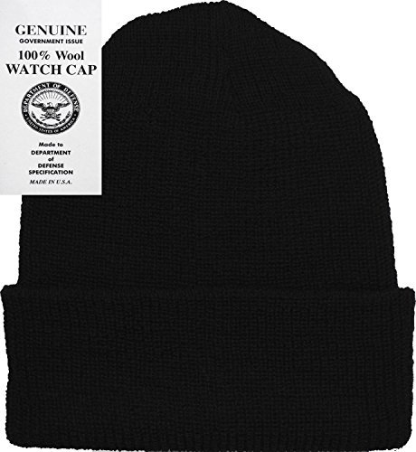 397c3d42f Military Genuine GI Winter USN Warm Wool Hat Watch Cap USA Made