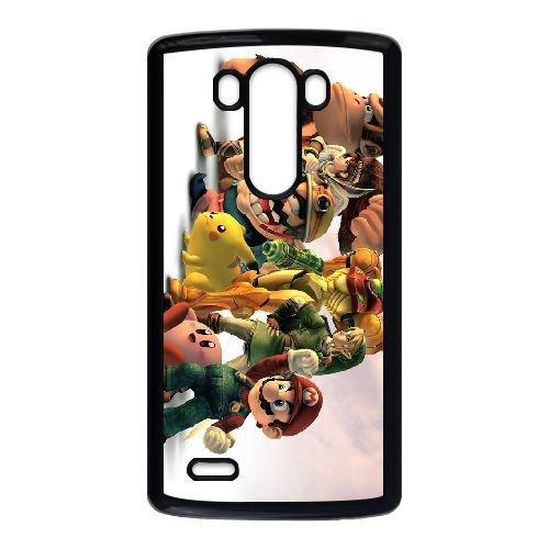 LG G3 Black phone case Video Games Super Smash Bros ...