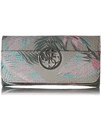 Kamryn Floral Large Flap Organizer Wallet