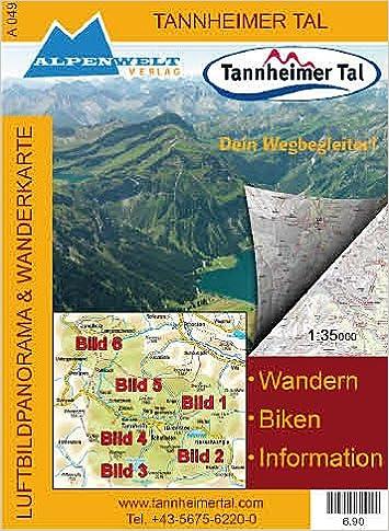 Tannheimer Tal Karte.Alpenwelt Karte Tannheimer Tal Amazon De Alpenwelt Verlag