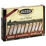 Alessi Cannoli Shells Mini (12 ct) 4.0 OZ (Pack of 2)