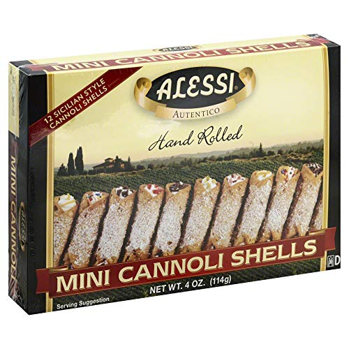 Alessi Cannoli Shells Mini (12 ct) 4.0 OZ (Pack of 2) by Generic (Image #1)