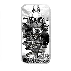 Tupac TVC Styleframe Hard Case Cover Protector For HTC M8