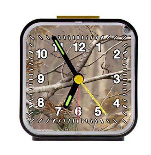 Reong Tree Forest Square Black Alarm Clock 3.27