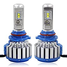 RCP - 9006(HB4) - LED Headlight CREE Bulbs Conversion Kits + Canbus (1 Pair)- 70W 7200Lm White(6,000K) - 2 Year Warranty
