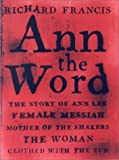 Ann the Word, Richard Francis, 1559705620